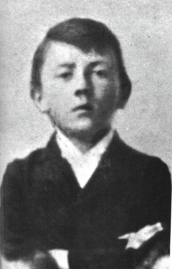 Hitler as a young boy
