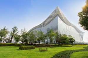 Largest building in world opens in China