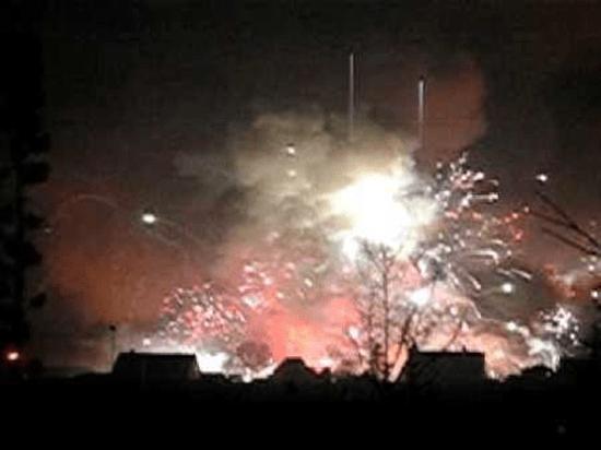 Seest fireworks disaster - 2004 Denmark