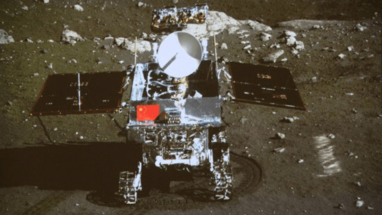 China's Jade Rabbit lunar rover