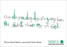 This NSPC ad about child abuse is chilling