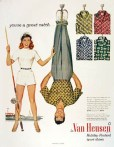 Hey, Van Heusen clothing ads can be sexist to men too