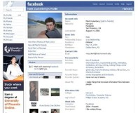 2006 - Mark Zuckerberg's profile