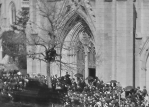 Closer view of Grace Church, New York