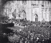 Frame 3 of 8 - Lincoln funeral procession