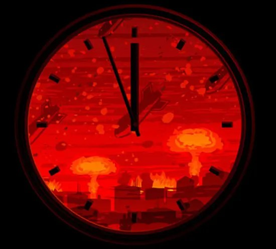 The Doomsday Clock–a grim reminder that we are not immortal