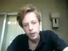Barrett Brown shortly before the raid on his home