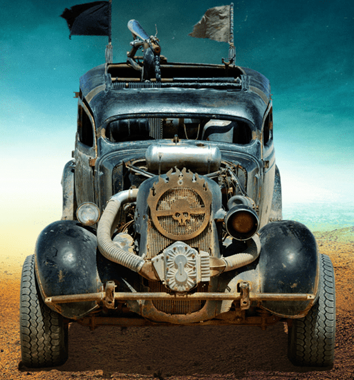 Dodge from Mad Max: Fury Road movie