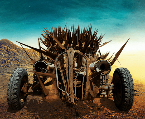The Buzzard Excavator (aka Plymouth Rock) from Mad Max Fury Road movie