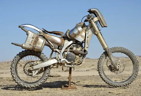 Rock Riders' Yamaha Motorcycles from Mad Max: Fury Road movie