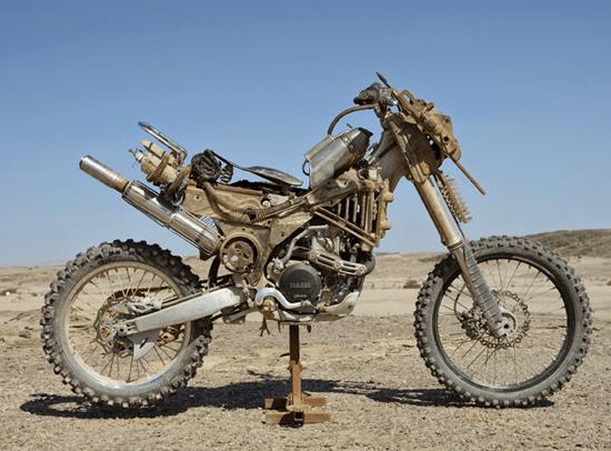 Rock Riders' Yamaha Motorcycles