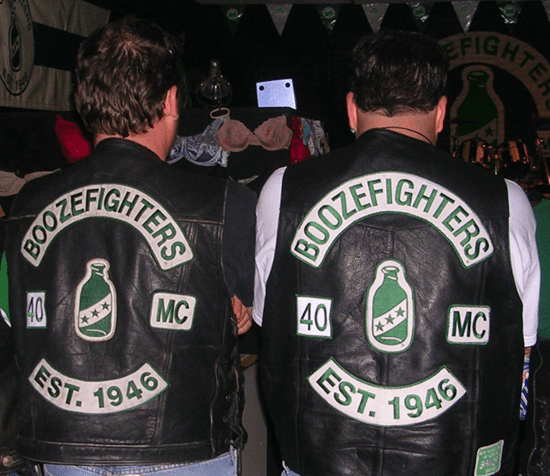 Boozefighters motorcycle club (MC)
