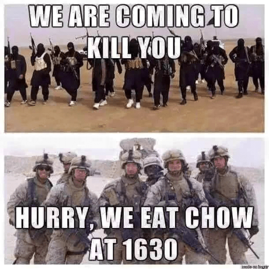 We are coming to kill you