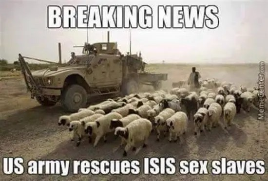 US army frees ISIS sex slaves