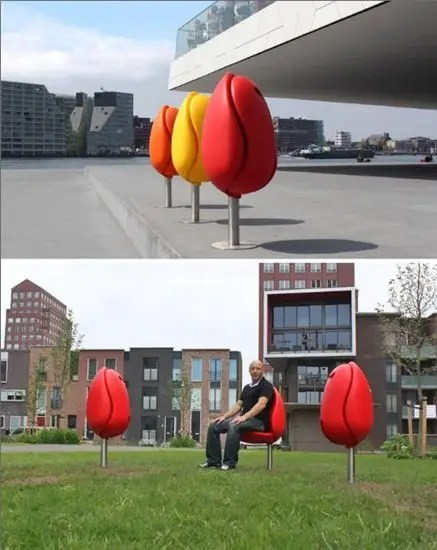 Tulip seats.