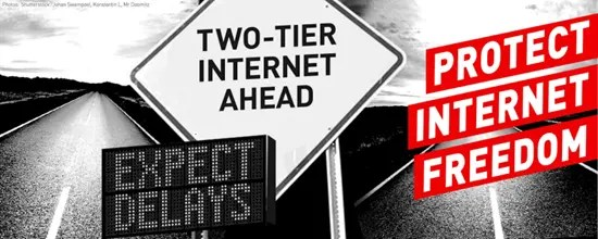 Two-tier Internet ahead - protect Internet freedom