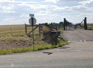 Radio towers on Zorro Ranch property
