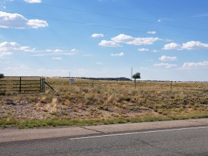 Jeffrey Epstein New Mexico Ranch (house on plateau near center of picture)