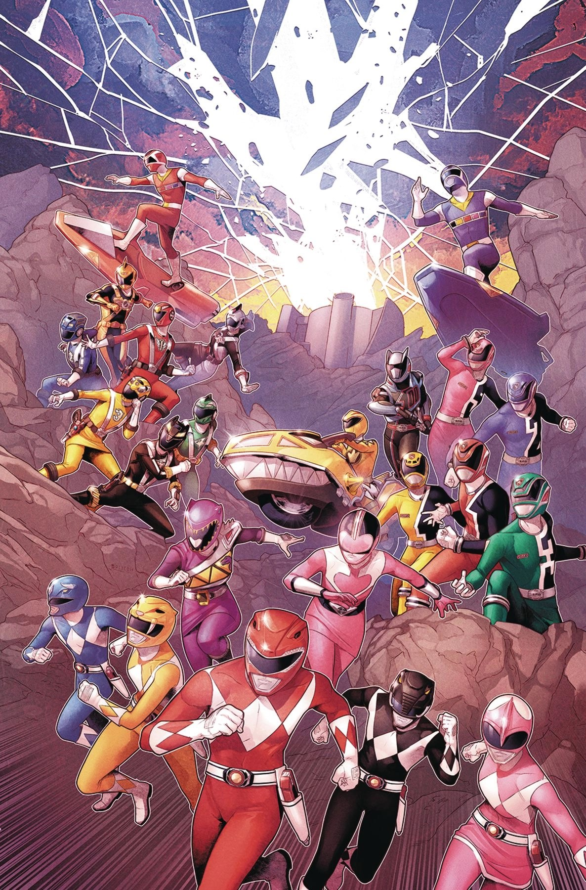 Mighty Morphin Power Rangers #02 (Jamal Campbell Cover) BOOM! Studios