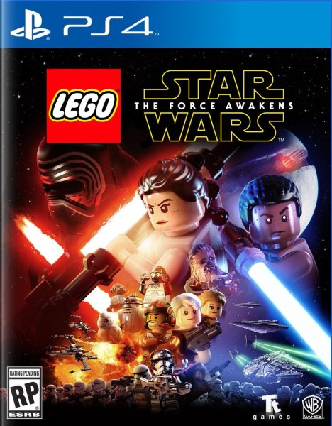 Portada de Lego: The Force Awakens para PS4