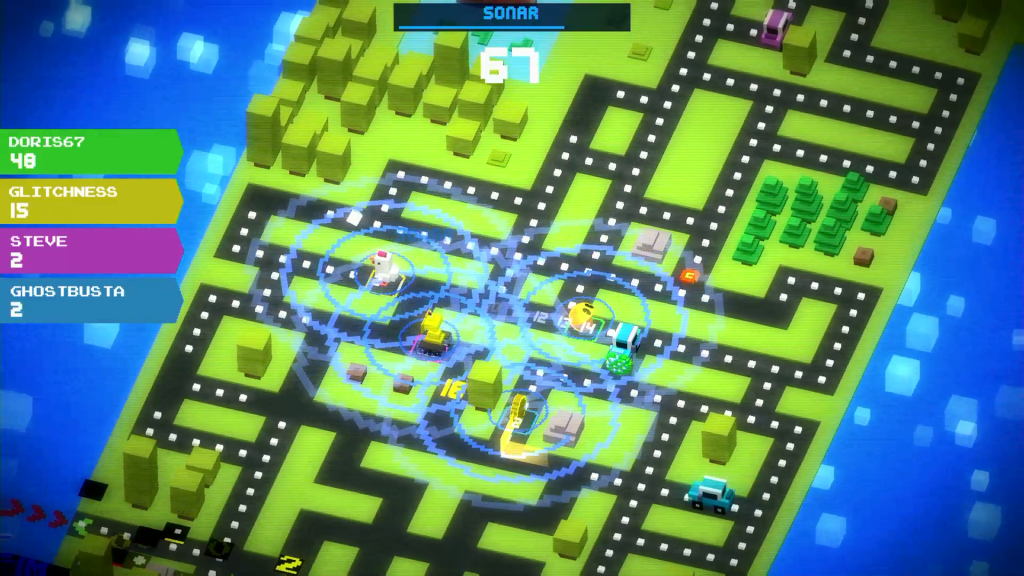 ¿Pac-Road? ¿Crossy-Man?