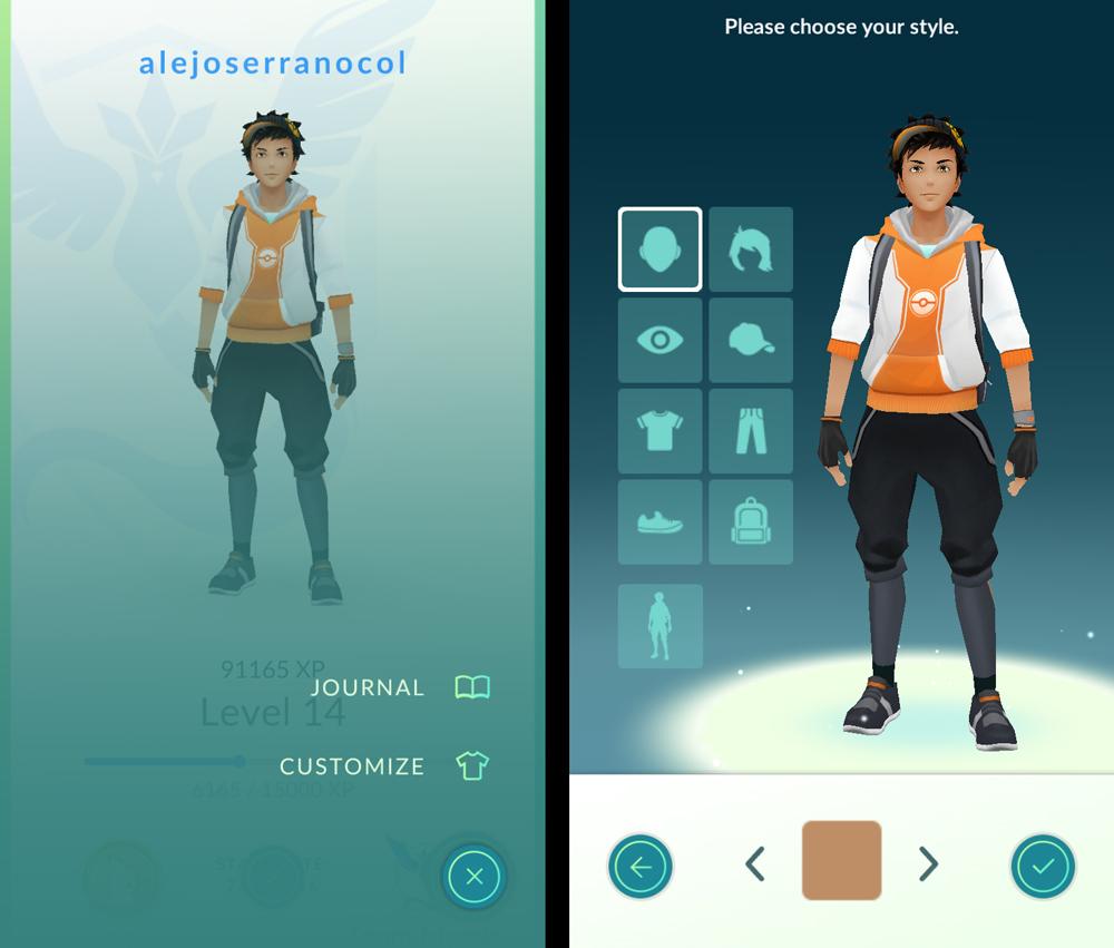 Pokémon Go Avatar
