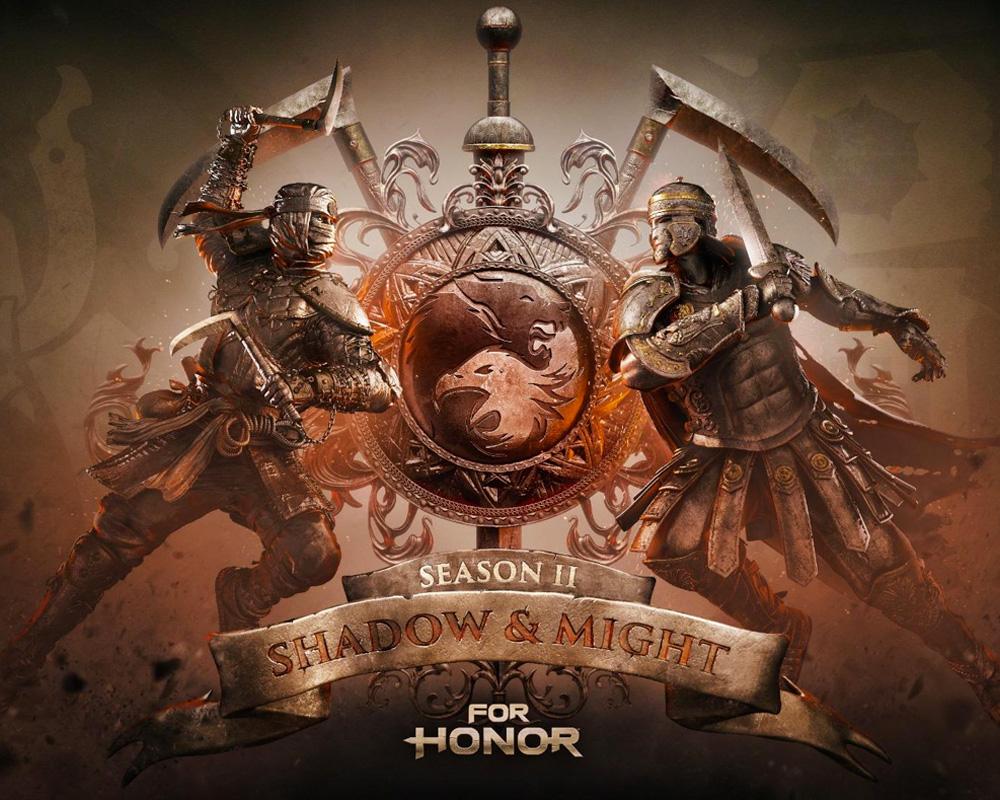 Shadow And Might la segunda temporada de For Honor
