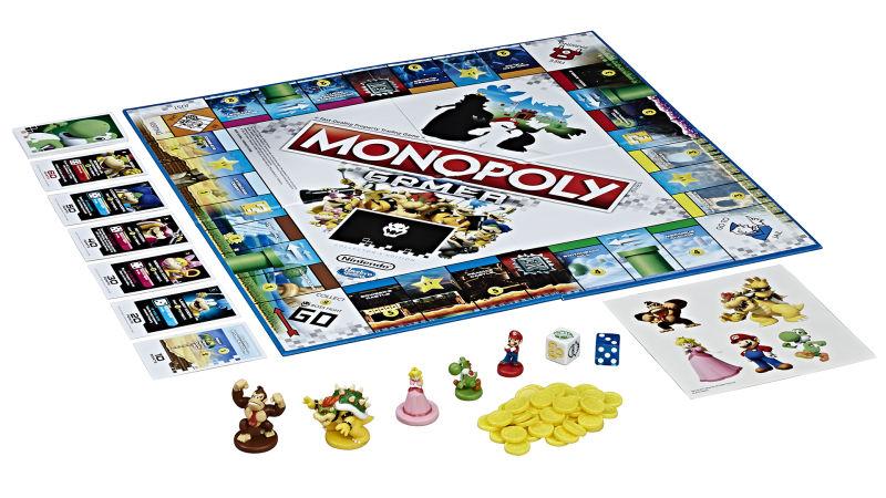 Table Gamer Super Mario Monopoly Llega A Los Juegos De Mesa