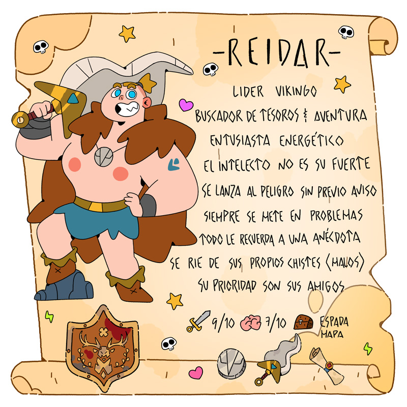 Reidar - Vikingos - Cartoon Network