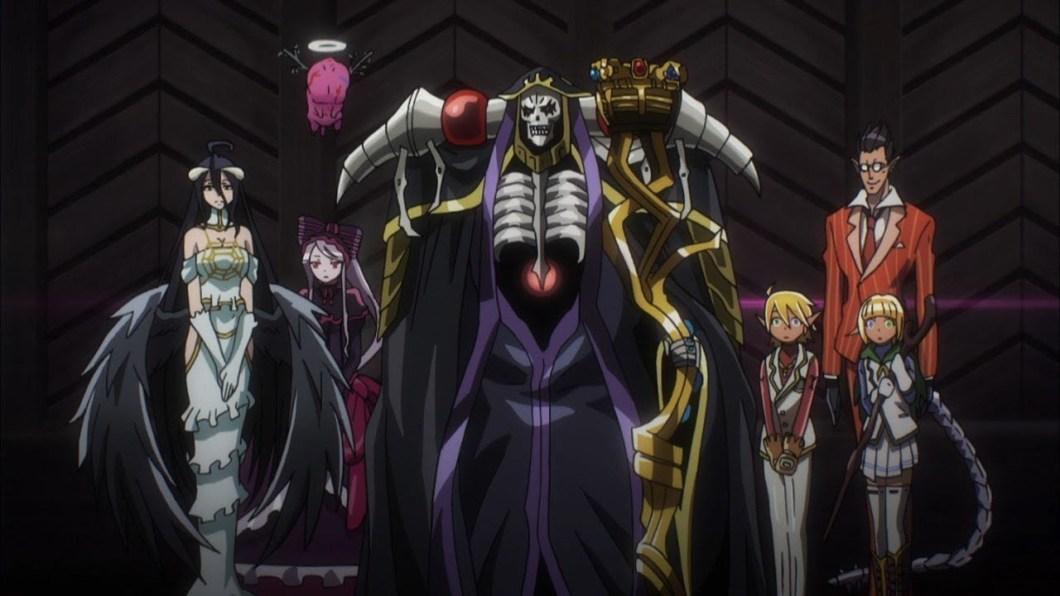 Nuestros recomendados de anime Isekai: Overlord.