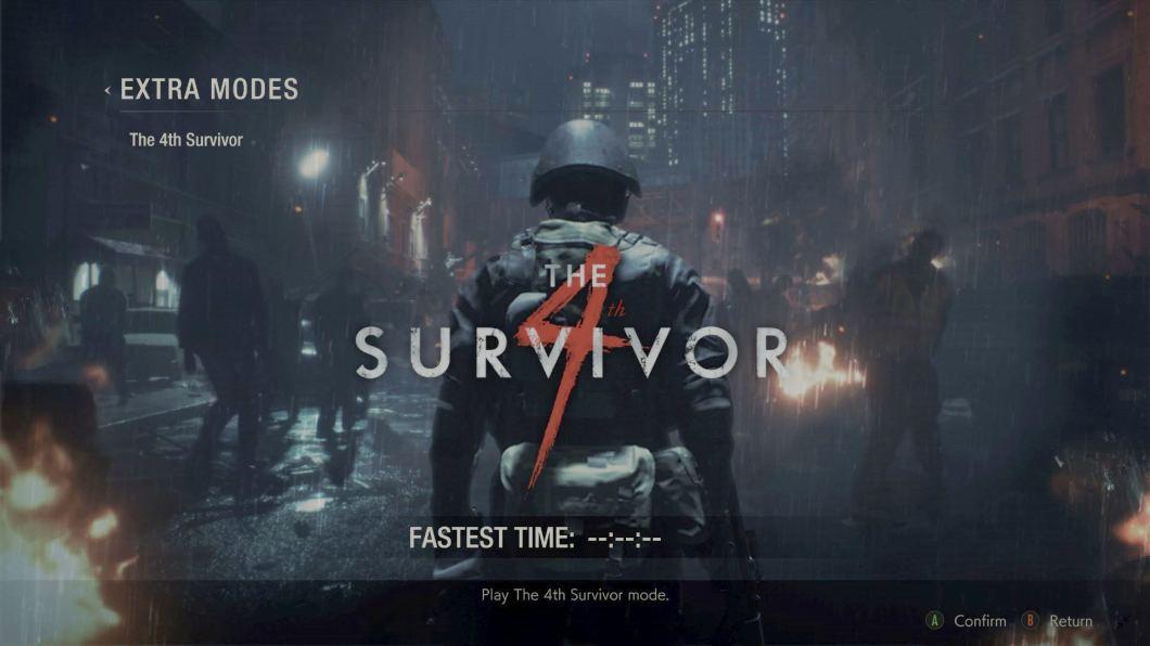 Resident Evil 2 Remake - Extra modes: The Survivor 4