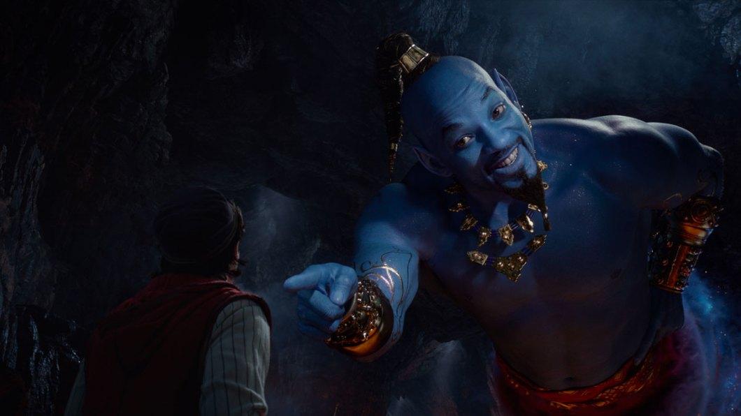 El Genio interpretado por Will Smith.