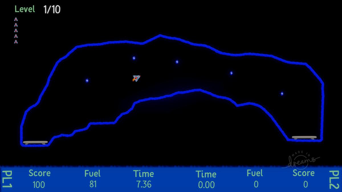 Reseña Dreams - PlayStation 4 - Thrust Force Space Lander