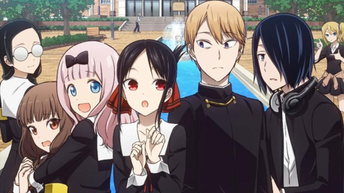 Kaguya Sama - anime de Primavera 2020