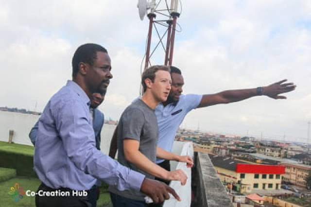 Mark Zuckerberg's Visit to lagos