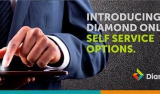 How to check diamond bank account balance on phone