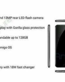 Gionee A1 Full Specifications and Price in Nigeria, India