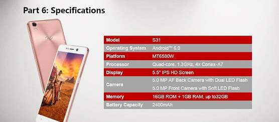 """Itel S31 with 5.5"""" HD Display Price in Nigeria & Full Specs"""