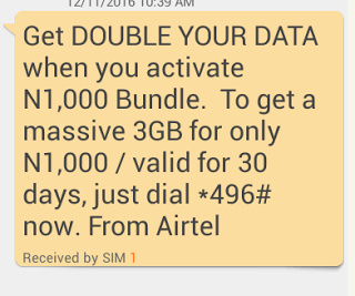 How to subscribe for Airtel Double Data Plan & Code