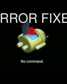 "How to Fix ""No Command"" error on Android phone withing secs"