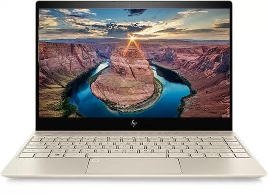 HP Envy 13 notebook with Cofee Lake chips