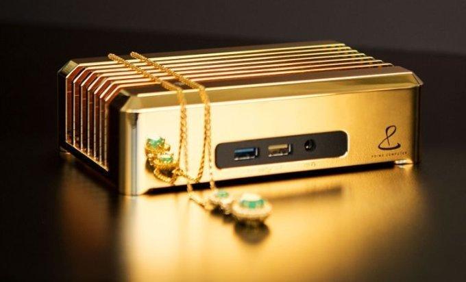 Prime 18-carat gold mini PC