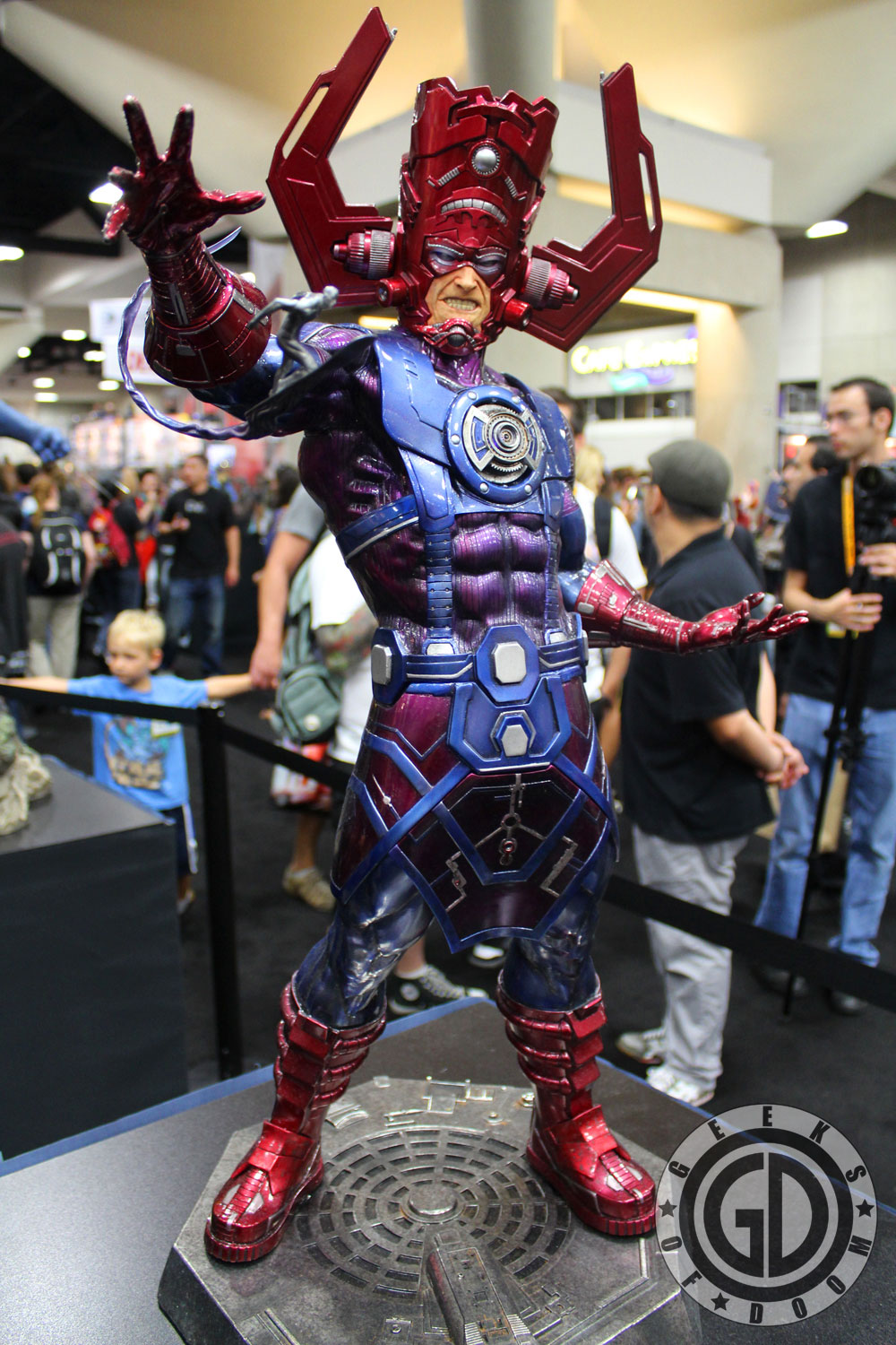 SDCC 2012 Sideshow Collectibles Galactus Statue