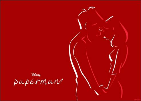 Disney Sends Valentines Day Greetings Paperman Style