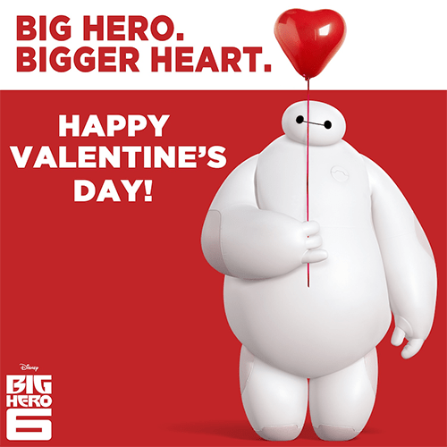 Happy Valentines Day From Baymax Of Big Hero 6