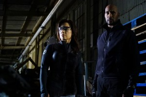 """MARVEL'S AGENTS OF S.H.I.E.L.D. - """"The Ghost"""" - In the season premiere episode, """"The Ghost,"""" Ghost Rider is coming, and S.H.I.E.L.D will never be the same. """"Marvel's Agents of S.H.I.E.L.D."""" returns with a vengeance for the fourth exciting season in an all-new time period, TUESDAY, SEPTEMBER 20 (10:00-11:00 p.m. EDT), on the ABC Television Network. (ABC/Richard Cartwright) MING-NA WEN, HENRY SIMMONS"""
