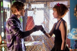 """""""Idol"""" -- David Gallagher as Zan and Allison Scagliotti as Jayna in SMALLVILLE, on The CW Network. Photo: Jack Rowand/The CW ©2009 The CW Network, LLC. All Rights Reserved."""
