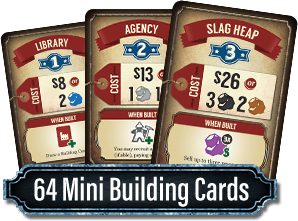 Ore: The Mining Game Mini Building Cards