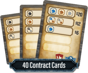 Ore: The Mining Game Contract Cards