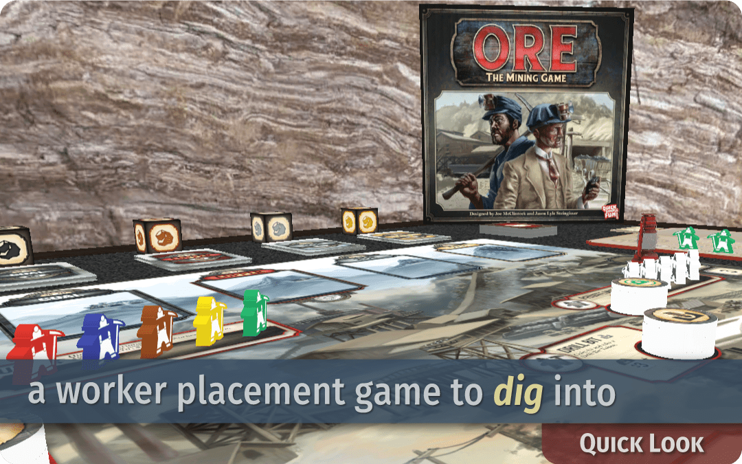 Ore: The Mining Game